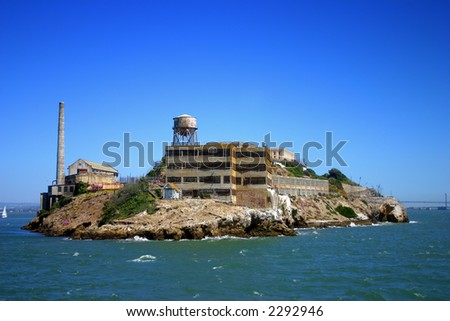 Alcatraz Island - stock photo