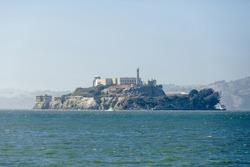 Alcatraz Island in San Francisco,