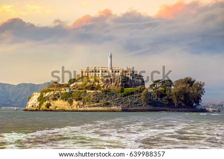 alcatraz island in san...