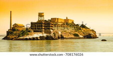 alcatraz island with famous...