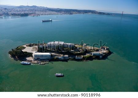 alcatraz jail in san francisco...