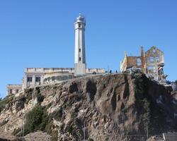Alcatraz Lighthouse and Governor's House