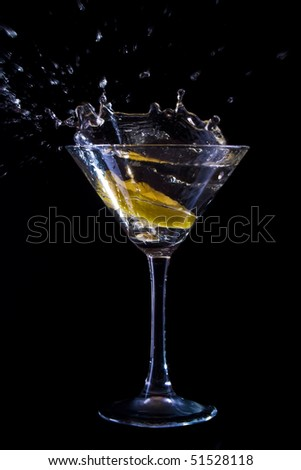 alcohol, aperitif, black, glass, fruit, drunk, carnival, blue