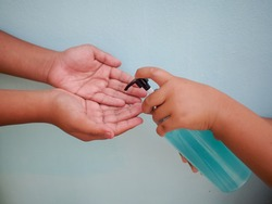 Alcohol based hand sanitizer for protection against Covid - 19.