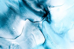 Alcohol ink colors translucent. Abstract texture background. Design wrapping paper, wallpaper. Mixing acrylic paints. Modern fluid art. Alcohol Ink, ethereal graphic design