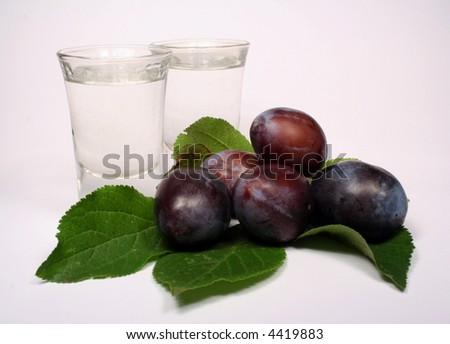 Alcohol of plum