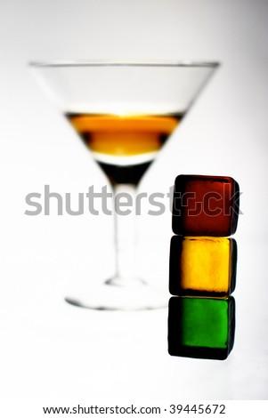 alcohol traffic light warning symbol