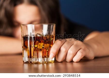 Alcoholism, Women, Alcohol.