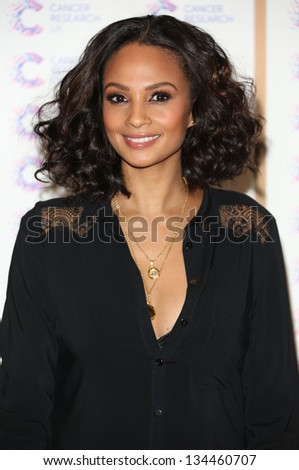 Alesha Dixon arriving at the James' Jog fundraising event for Cancer Relief, Kensington, London. 03/04/2013 Picture by: Henry Harris