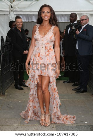 Alesha Dixon arriving for the Glamour Women Of The Year Awards 2012, at Berkeley Square, London. 29/05/2012 Picture by: Alexandra Glen / Featureflash