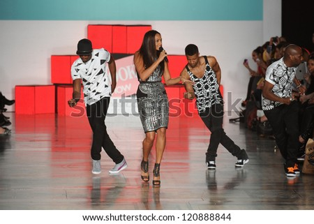 Alesha Dixon at The Look Show at the Royal Courts of Justice, London. 06/10/2012 Picture by: Steve Vas