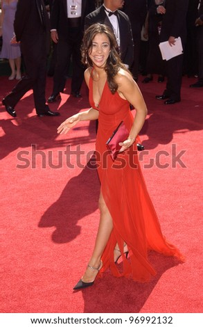 ALEX MADISON at th 56th Annual Primetime EMMY Awards at the Shrine Auditorium, Los Angeles. September 19, 2004