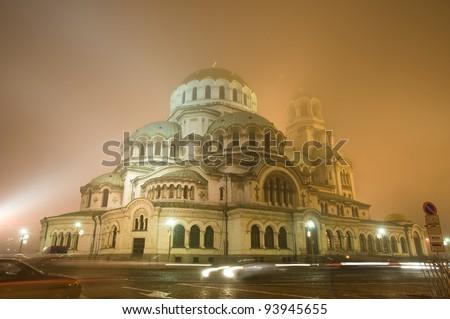 Alexander Nevsky cathedral - night shot