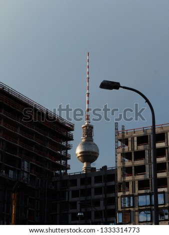 Alexanderplatz tower building #1333314773