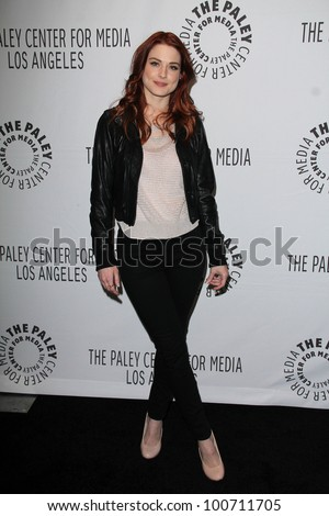 "Alexandra Breckenridge at ""American Horror Story"" at PaleyFest 2012, Saban Theater, Beverly Hills, CA 03-02-12"