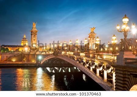 Shutterstock Alexandre 3 Bridge - Paris - France