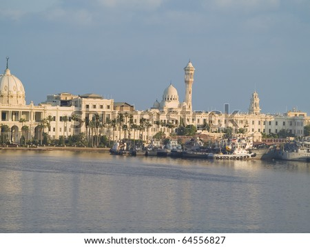 Alexandria city of Egypt famous for its library.