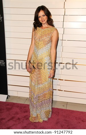 Alexis Bledel at Rodeo Drive Walk Of Style Honoring Iman And Missoni, Rodeo Drive, Beverly Hills, CA 10-23-11