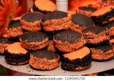 alfajor Halloween dessert #1104345710