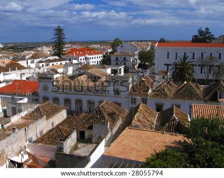 Algarve,  old town Tavira, Portugal