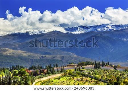 alhambra farm sierra nevada...