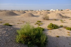 Ali burial mounds in bahrain