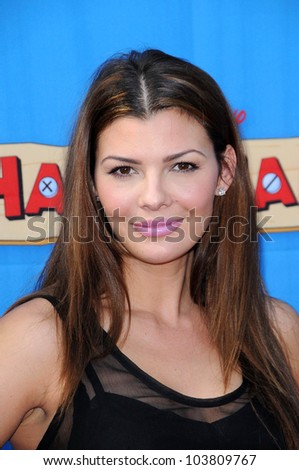 Ali Landry at the Los Angeles Premiere of \'Handy Manny Motorcycle Adventure\'. Arclight Hollywood, Hollywood, CA. 09-26-09