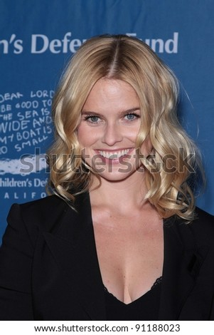 Alice Eve at The Children's Defense Fund's 21st Annual Beat The Odds Awards, Beverly Hills Hotel, Beverly Hills, CA 12-01-11