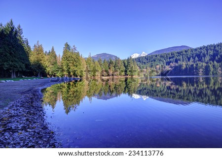 Alice lake, British Columbia, Canada