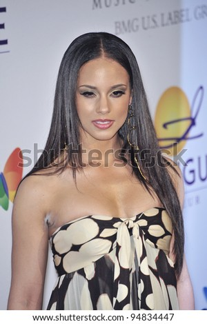 Alicia Keys at music mogul Clive Davis' annual pre-Grammy party at the Beverly Hilton Hotel. February 9, 2008  Los Angeles, CA Picture: Paul Smith / Featureflash