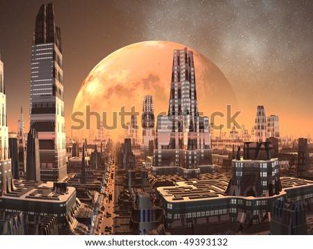 Alien City of the Future