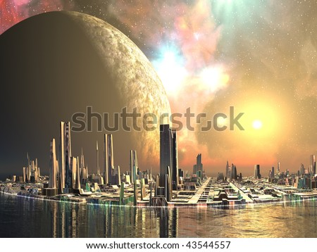 Alien Island Cities
