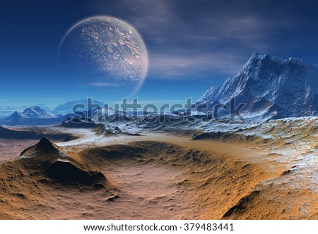 Alien Planet - Fantasy Landscape