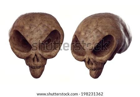 Alien skull Forbidden Archeology