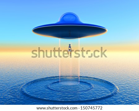 Alien teleportation