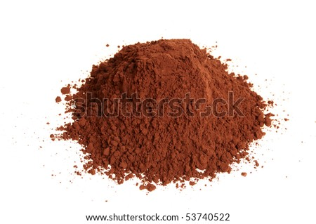 Alkalized cocoa powder - stock photo