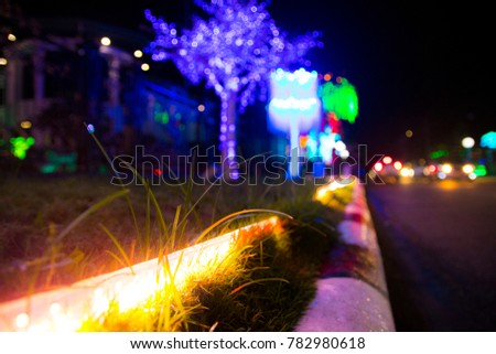 All About Christmas Lights In The Holiday Season  #782980618