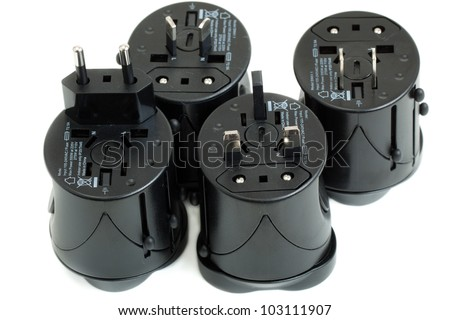 All-in-one Universal Travel Adapter (Plug Converter US UK EU AU)