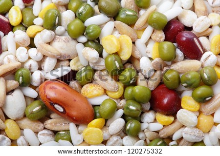 All kind of beans and legumes mix great for health