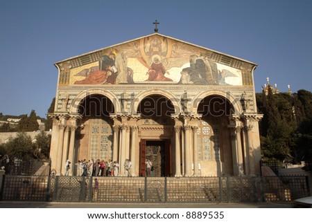 All Nations Church, Garden Of Gethsemane, Jerusalem