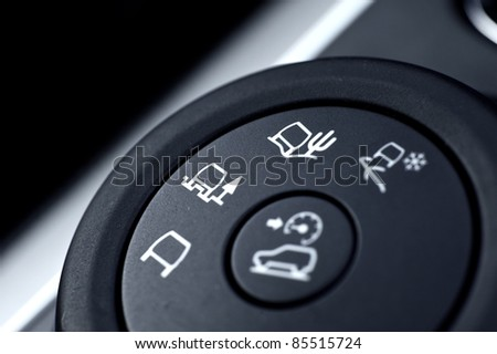 All Roads Driving Modern Vehicle Switch. Regular Road Driving, Sandy Roads and Snow Driving. Down Hill Driving Button.