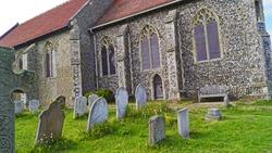 All Saints Church and cemetery