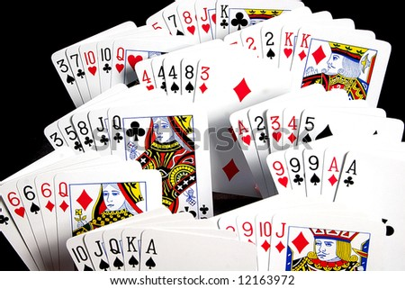 possible hands in poker