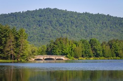 Allegany State Park's Red House Lake