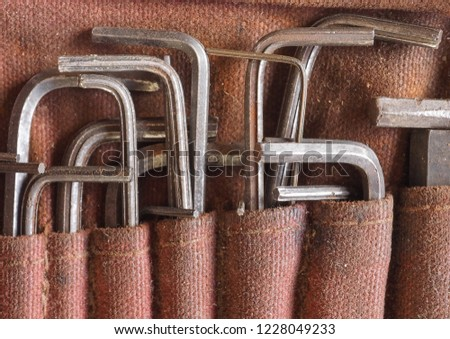 Allen wrench aka Allen key or hex key