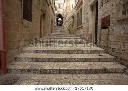 Alley in Old Jerusalem