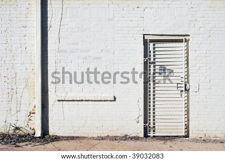 Alley Street Door
