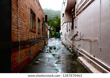 Alleyways near Mount Gravatt, Brisbane, QLD