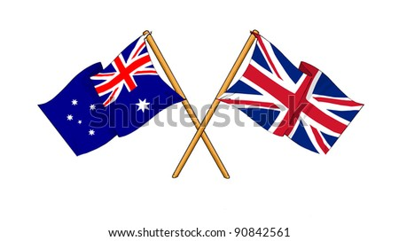 Alliance and friendship between Australia and United Kingdom