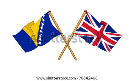 Alliance and friendship between Bosnia and Herzegovina and United Kingdom